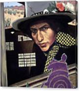 Bob Dylan Surreal Desert Canvas Print