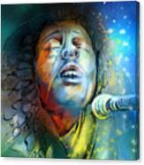 Bob Marley 10 Canvas Print