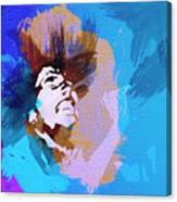 Bob Marley 3 Canvas Print