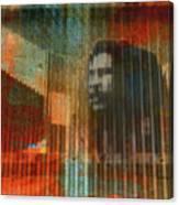 Bob Marley Abstract II Canvas Print