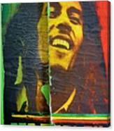 Bob Marley Door At Pickles Usvi Canvas Print