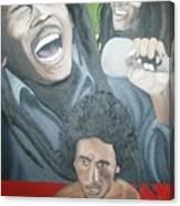 Bob Marley Montage Canvas Print