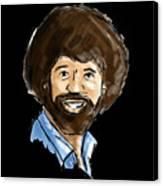 Bob Ross Canvas Print