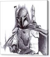 Boba Fett - Star Wars Canvas Print