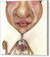 Bobblehead No 33 Canvas Print