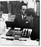 Bobby Fischer (1943-2008) Canvas Print