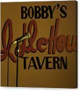 Bobby's Idle Hour Canvas Print
