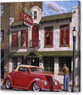Bob's Chili Parlor Canvas Print