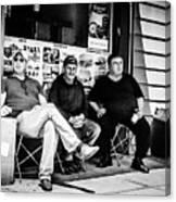 Bodega Boys Canvas Print