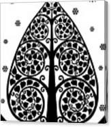 Bodhi Tree_v-7 Canvas Print