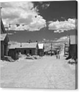 Bodie A Ghost Town Infrared  Canvas Print