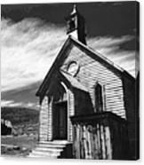 Bodie Church 1977 Canvas Print