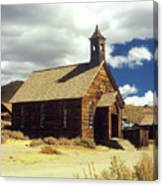 Bodie Church II Canvas Print