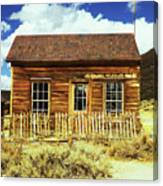 Bodie Cottage Canvas Print