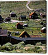 Bodie Ghost Town Panorama Canvas Print
