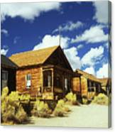 Bodie Houses Canvas Print