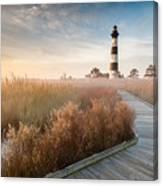Bodie Island Lighthouse Cape Hatteras National Seashore North Carolina Canvas Print