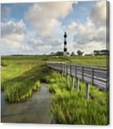 Bodie Island Lighthouse North Carolina Canvas Print