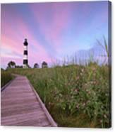 Bodie Island Obx Sunrise Canvas Print