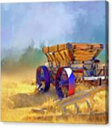 Bodie Ore Wagon Painted Canvas Print