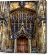 Bodleian Library Door - Oxford Canvas Print