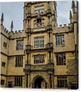 Bodleian Library Main Gate Canvas Print
