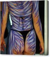 Body Paint Masterpiece Canvas Print