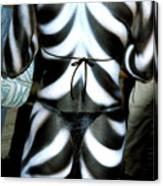 Body Stripes Canvas Print