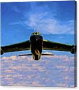 Boeing B-52 Stratofortress Oil Canvas Print