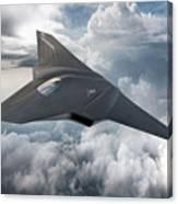 Boeing Next Gen Fighter Concept Canvas Print