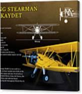 Boeing Stearman N2s Kaydet Canvas Print