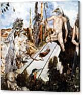 Bogomils Court Canvas Print