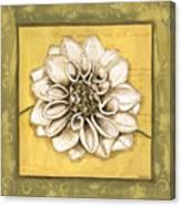 Bohemian Dahlia 1 Canvas Print