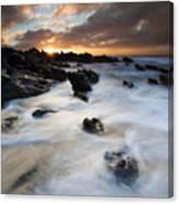 Boiling Tides Canvas Print