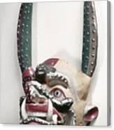 Bolivia: Native Mask Canvas Print