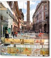 Bologna Artworks Of The City Hanging In  Canvas Print