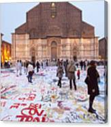 Bologna Cathedral Canvas Print