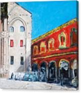 Bologna Plaza Canvas Print