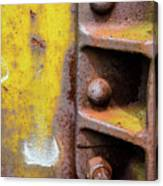 Bolted Iron Canvas Print