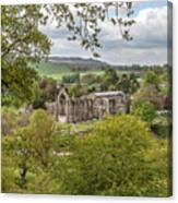 Bolton Abbey In Spring Canvas Print