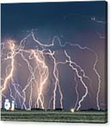 Bolts Over Bushland Canvas Print