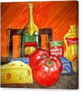 Bon Appetit Canvas Print