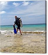 Bonaire Shore Diving 3 Canvas Print