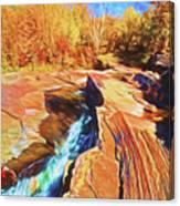 Bonanza Falls Canvas Print