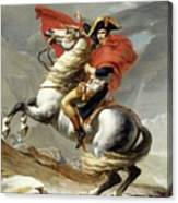 Bonaparte Crossing The Alps Canvas Print