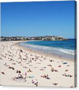 Bondi Beach In Sydney Australia Canvas Print