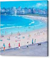 Bondi Beach Summer Canvas Print