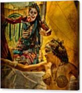 Bones In Hot Pursuit Canvas Print