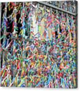 Bonfim Wish Ribbons Canvas Print