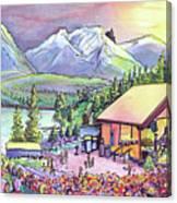 Bonfire Dub Canvas Print